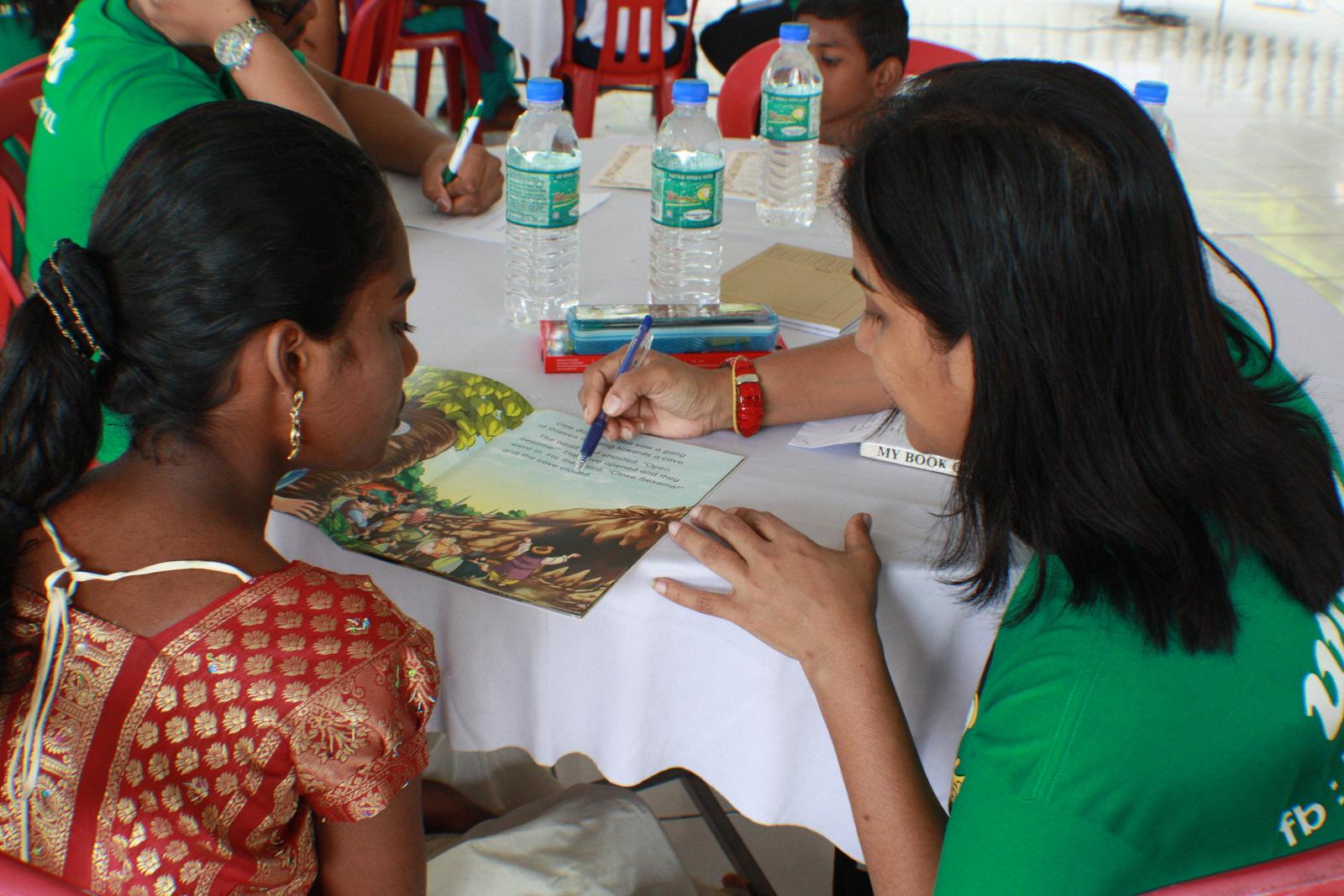 Kids teaching